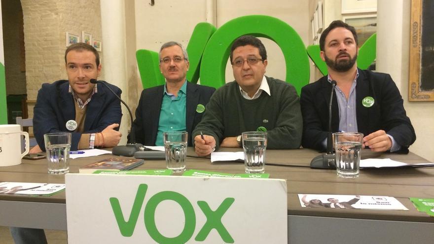 """Abascal (VOX): """"Los andaluces tienen resignación y miedo ante un régimen que el PP no ha querido combatir"""""""