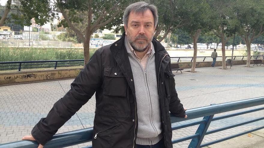El concejal de Izquierda Unida-Verdes en el ayuntamiento de Murcia, Nacho Tornel