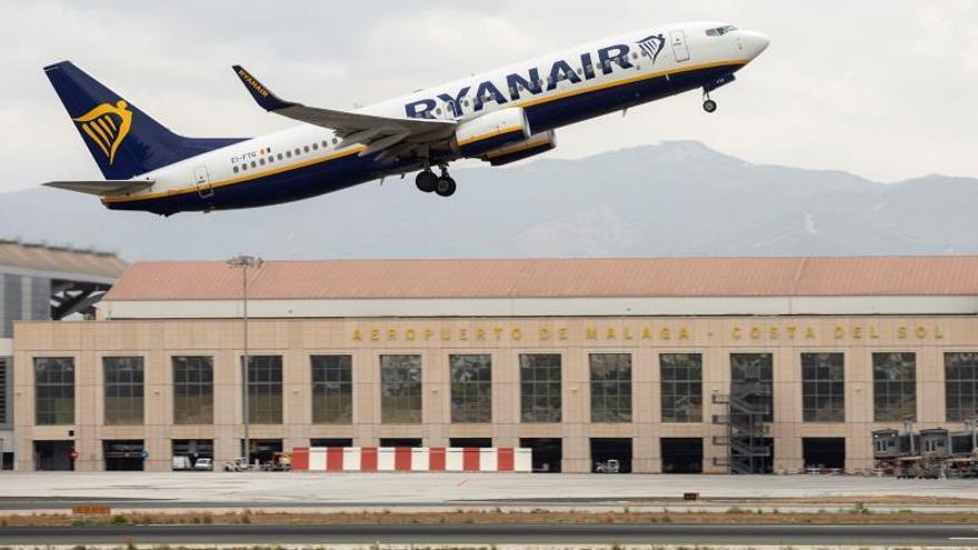 Ryanair logra el 97 % de sus salidas a tiempo en una nueva jornada de huelga