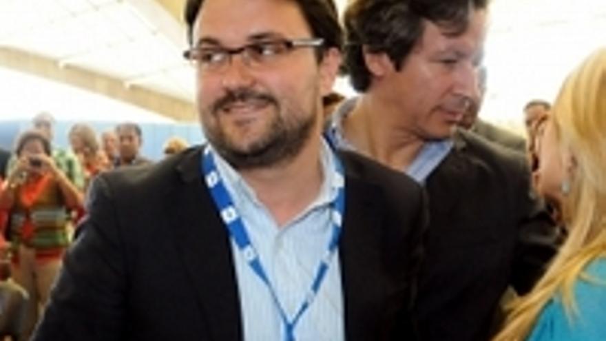 Asier Antona, nuevo secretario general del PP canario.