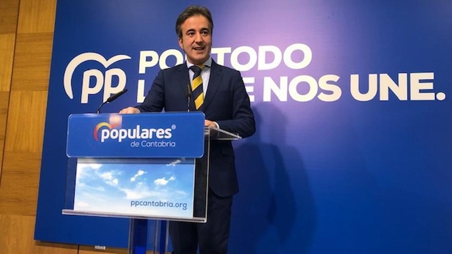 """PP cree que el 'no' """"de última hora"""" del PRC a Sánchez es por """"presión social"""" y por """"blanquear"""" a Revilla"""