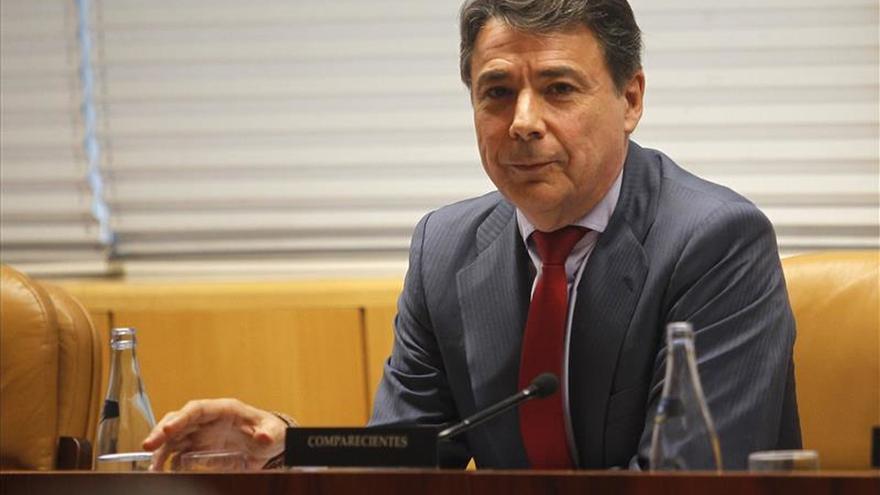 Tensa comparecencia de Ignacio González en la comisión de corrupción en Madrid