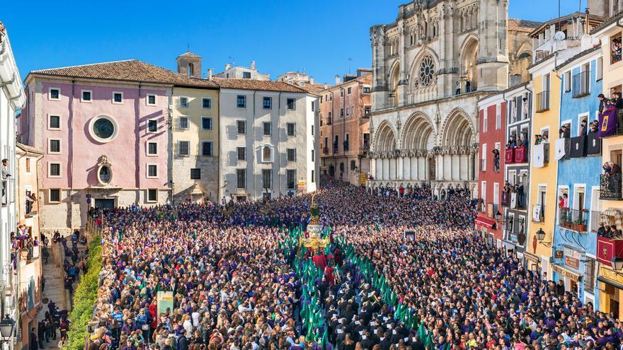 Suspendida por segundo año consecutivo la celebración de las procesiones de Semana Santa en Toledo y Cuenca