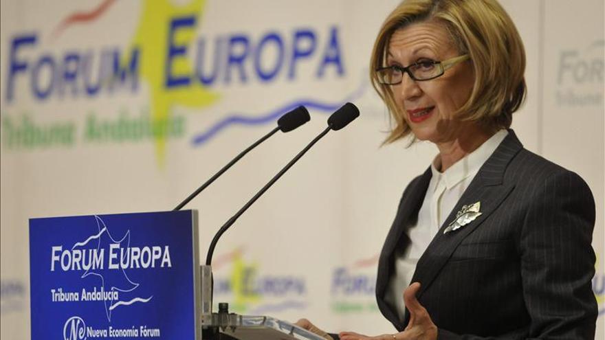 Rosa Díez rechaza que las comunidades se inmiscuyan en el debate de Cataluña