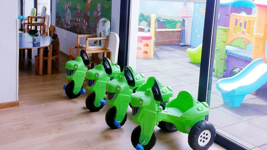 La Escuela Infantil de Puntagorda, homologada por la Consejería de Educación del Gobierno de Canarias