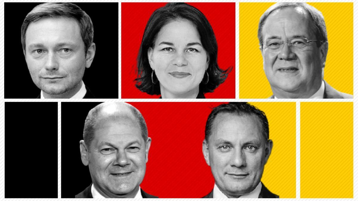 Candidatos a la Cancillería alemana.
