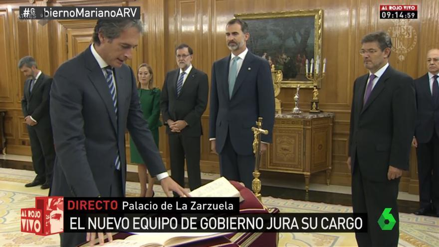 Íñigo de la Serna jura su cargo como nuevo ministro de Fomento