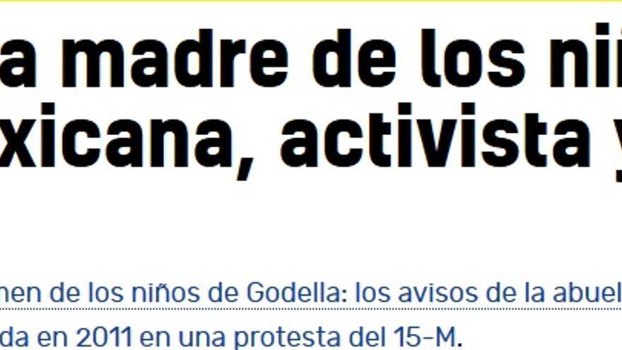 Madre de los dos niños aparecidos muertos en Godella, Valencia.