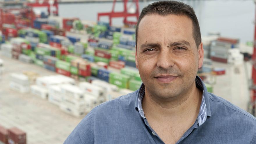 Antolín Goya, tinerfeño de la Coordinadora Estatal de Trabajadores del Mar