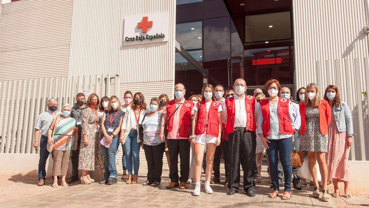 Equipo de 'Radares de soledad' de Cruz Roja en Córdoba.