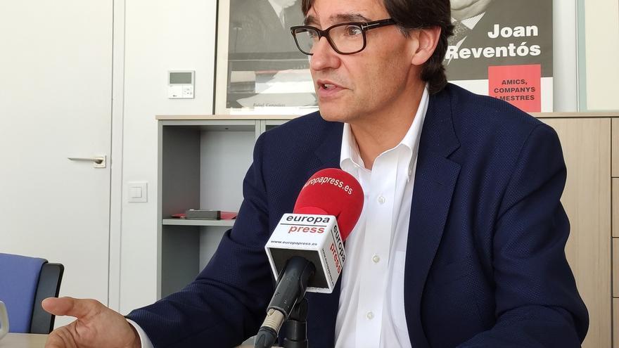 """Illa (PSC) se abre a apoyar los Presupuestos de la Generalitat pero pide elecciones """"inmediatamente después"""""""