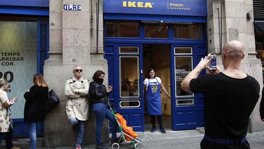 Ikea testa en España un nuevo concepto de tienda urbana con Ikea Temporary
