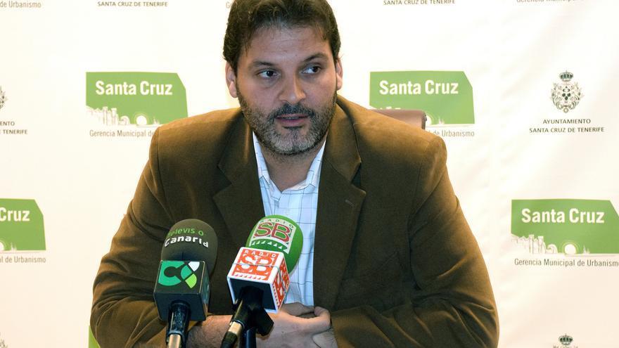 El concejal de Urbanismo y primer teniente de Alcalde de Santa Cruz, José Ángel Martín.