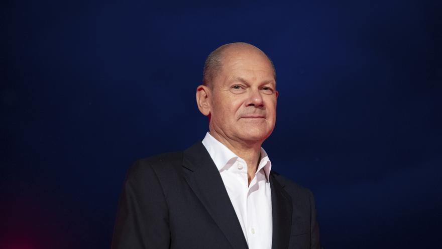Olaf Scholz, candidato del SPD a canciller y ministro de Finanzas alemán.