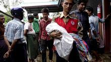 87.000 refugiados rohingya han llegado a Bangladesh en los últimos diez días