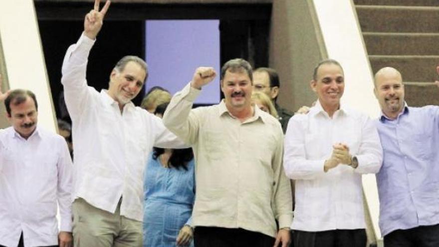 'Los Cinco de Cuba'. (EFE)