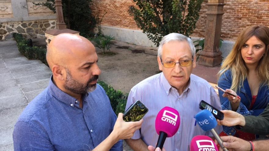 José García Molina y Alejandro Cano FOTO: Teresa Sánchez
