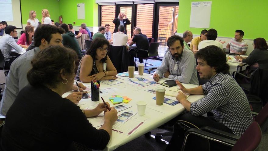 """Ocho nuevos proyectos innovadores participan en una jornada de  Innobasque para recabar """"colaboración"""""""