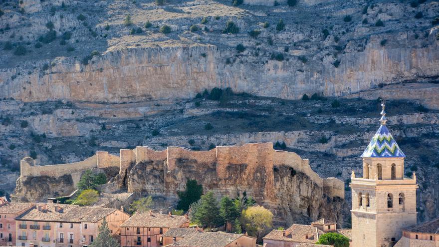 El castillo domina las alturas de Albarracín. Antonio Soler