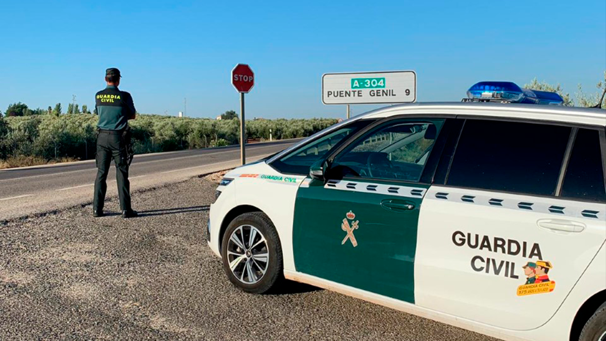 Guardia Civil en Puente Genil.
