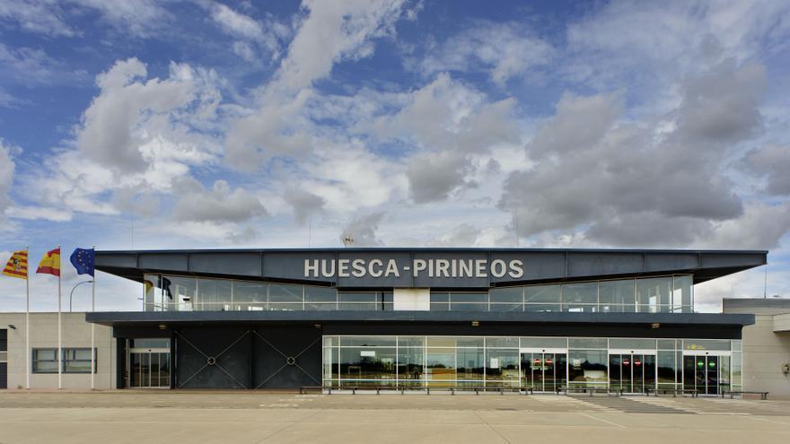 El de Huesca fue el aeropuerto de la red nacional de Aena con menos pasajeros en 2016.