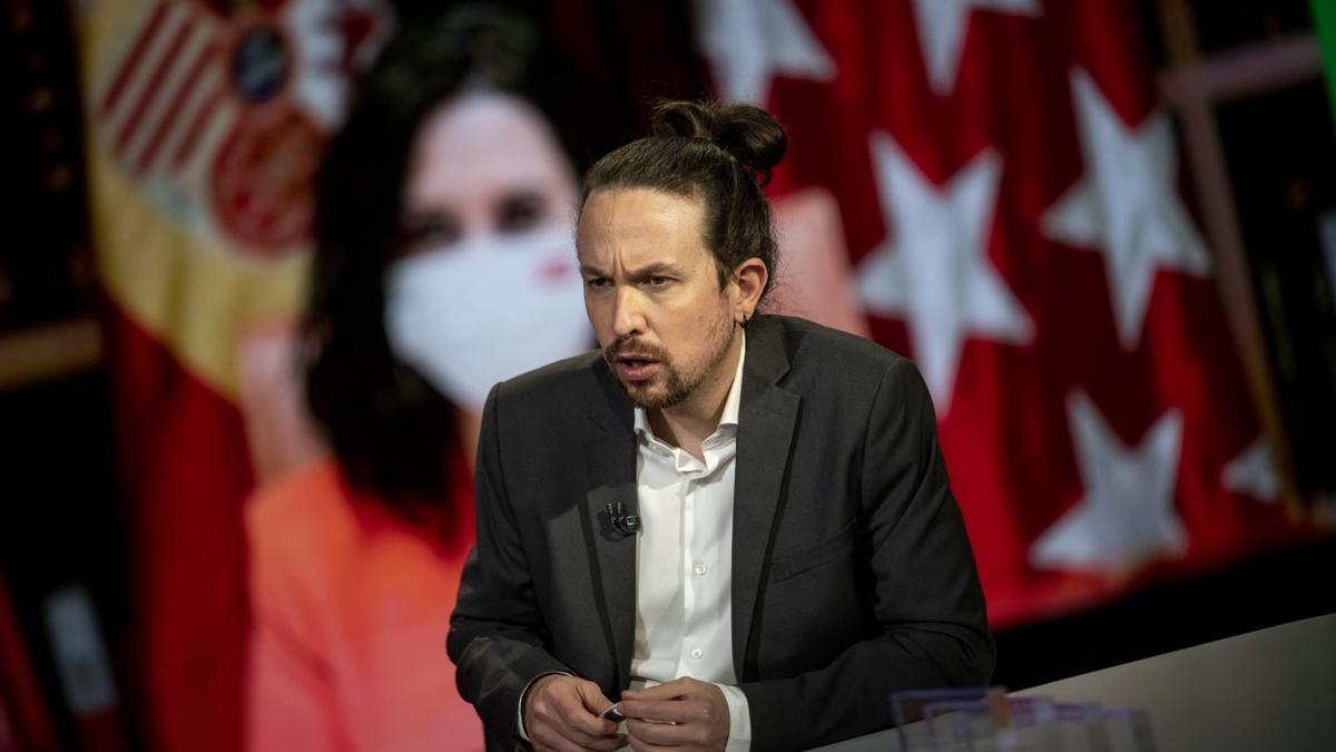 El vicepresidente segundo del Gobierno y candidato de Unidas Podemos, Pablo Iglesias.