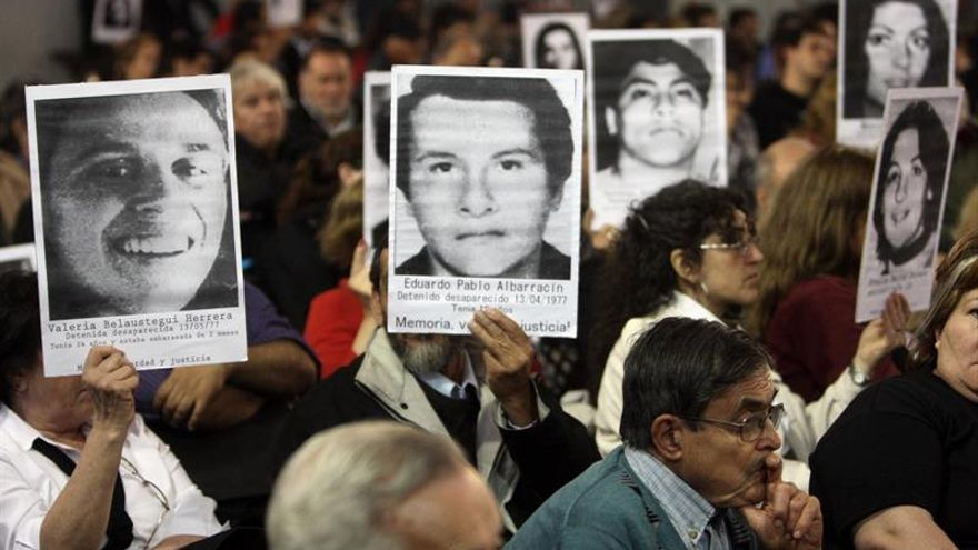 Familias de desaparecidos en la dictadura argentina conmemoran 40 años de lucha