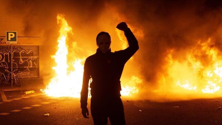 Disturbios en Catalunya por la sentencia del procés