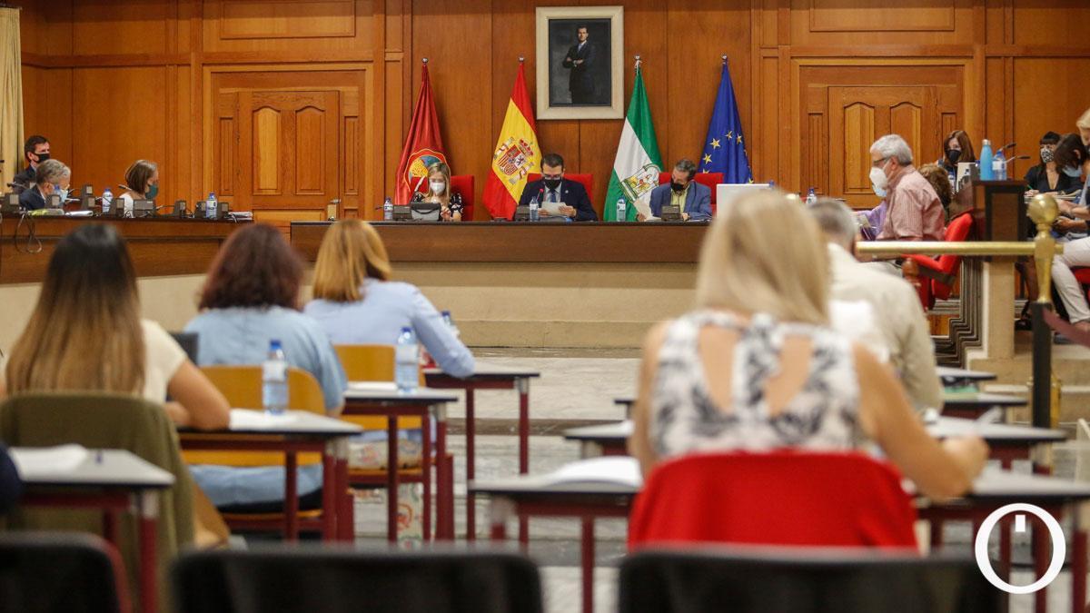 Pleno ordinario del Ayuntamiento de julio 2021.