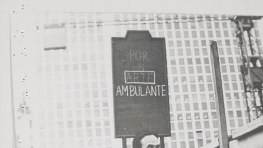 Isidoro Valcárcel Medina, Hombre Anuncio 1976