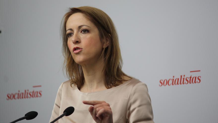 Cristina Maestre, portavoz socialista