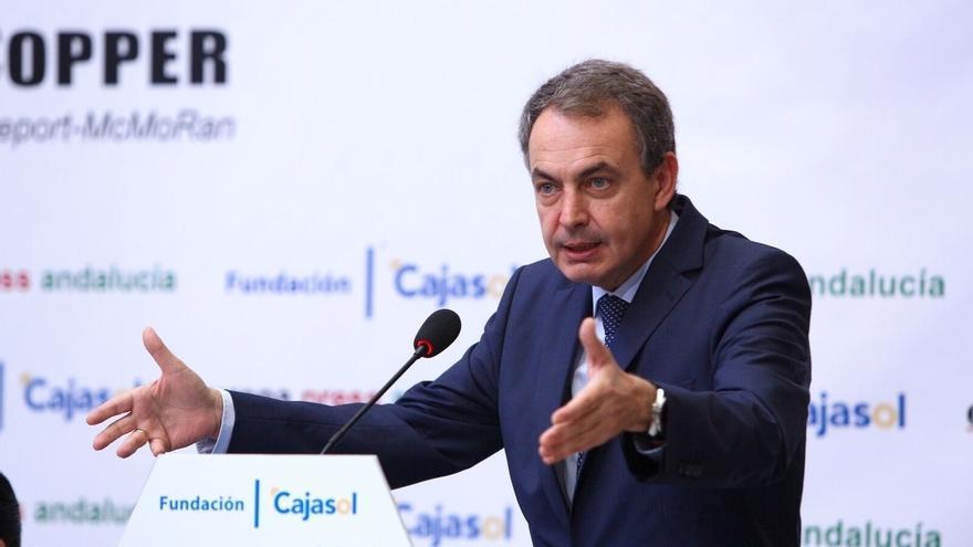 """Zapatero subraya que """"no hay condiciones mejores"""" que las de Sánchez para poder alcanzar un acuerdo"""
