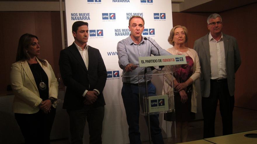 """Esparza, elegido nuevo presidente de UPN, destaca que """"una de sus principales tareas"""" será preparar el congreso"""