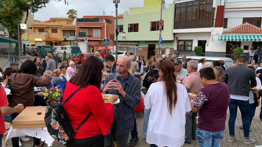 Cierre de campaña de Santiago Pérez, candidato de Avante La Laguna a la Alcaldía del municipio tinerfeño.