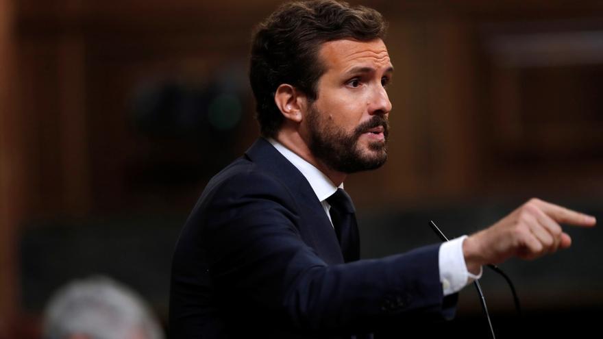 """Casado pide el cese de Iglesias por caso de corrupción """"más grave que Filesa"""""""