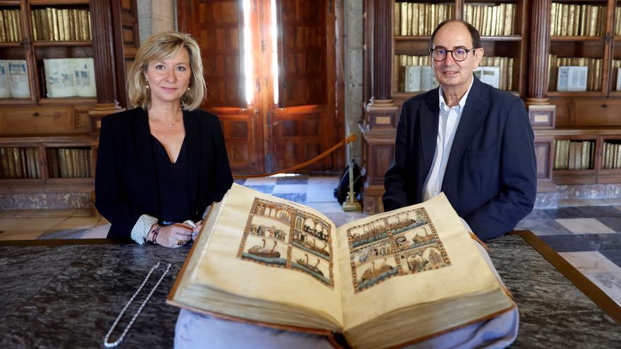 Los códices de las Cantigas de Alfonso X, a la vista de todos desde el martes