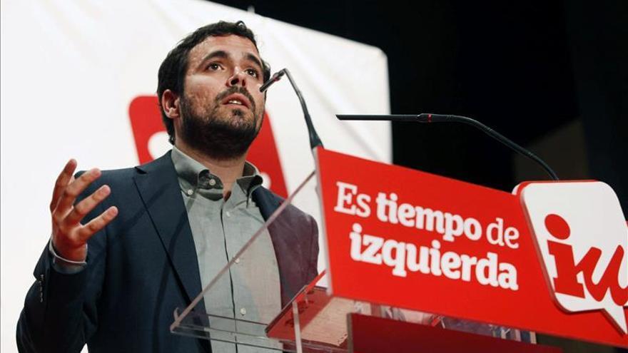 """Alberto Garzón: """"Hay que romper las costuras y salir a ganar"""""""