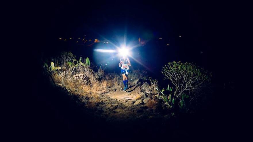 Imagen de archivo de la Full Moon Trail de Tijarafe.