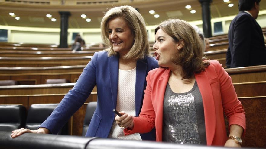 El Gobierno veta la tramitación en el Congreso de la propuesta de la oposición para subir las pensiones