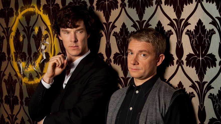 Los protagonistas de Sherlock