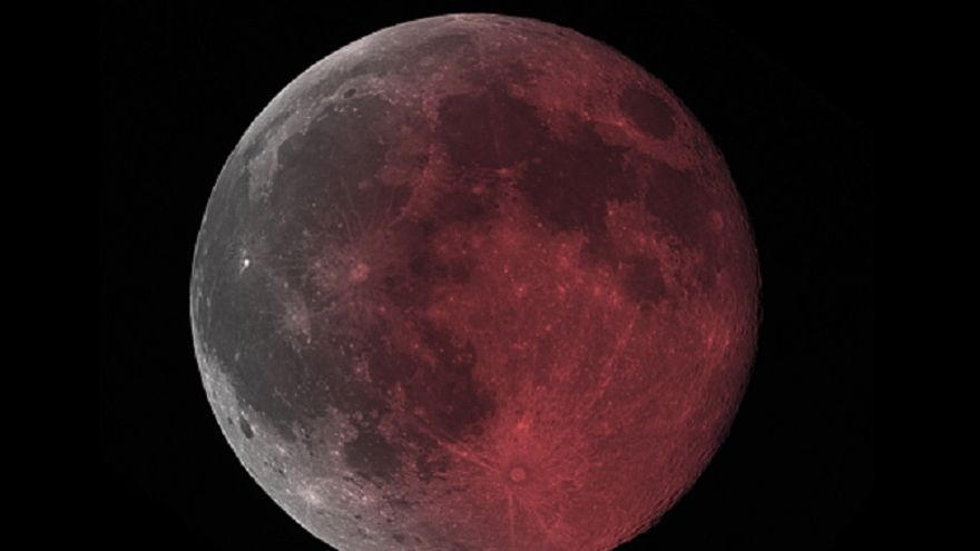 Vista de la 'Luna Roja'