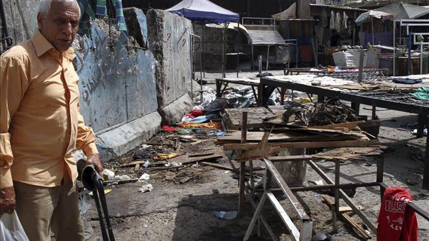 Al menos 7 muertos y 20 heridos por un ataque suicida en un barrio chií de Bagdad