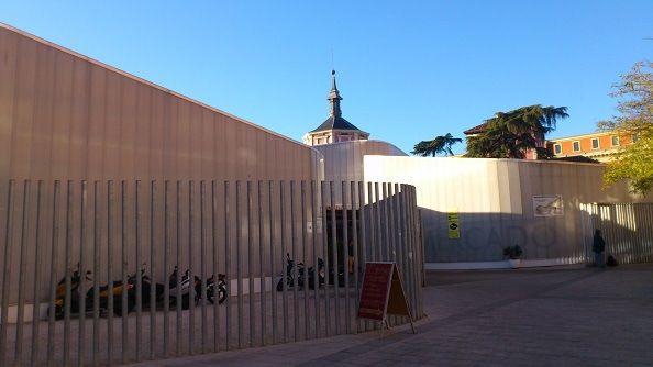 Instalaciones del mercado provisional de Barceló