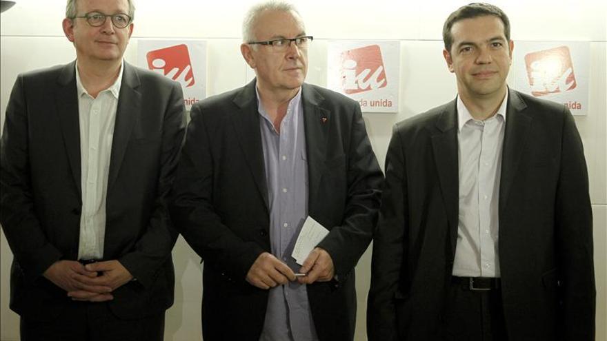 """Cayo Lara, Syriza y la izquierda europea quieren una """"primavera mediterránea"""""""