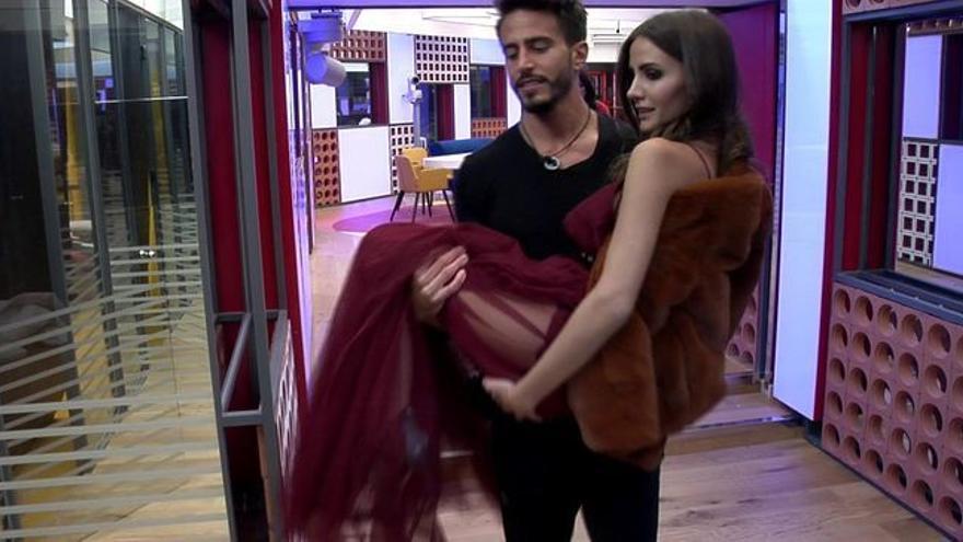 Marco y Aylén, como de luna de miel en 'GH VIP'