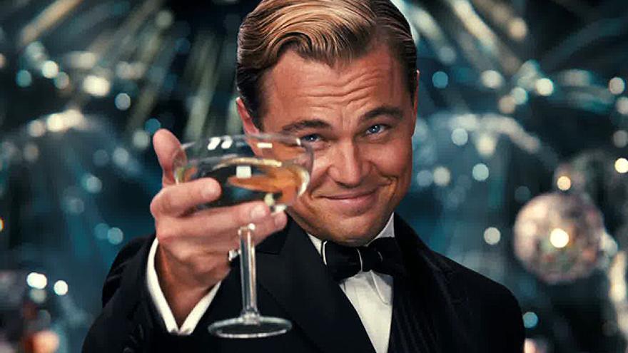 Leonardo DiCaprio en la película de 'El Gran Gatsby' (2013)