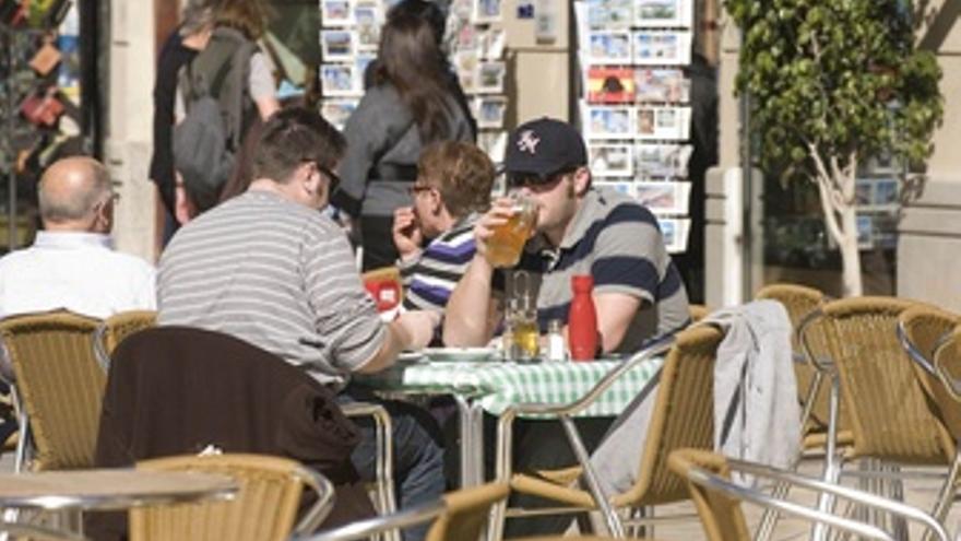Turistas americanos en Cartagena
