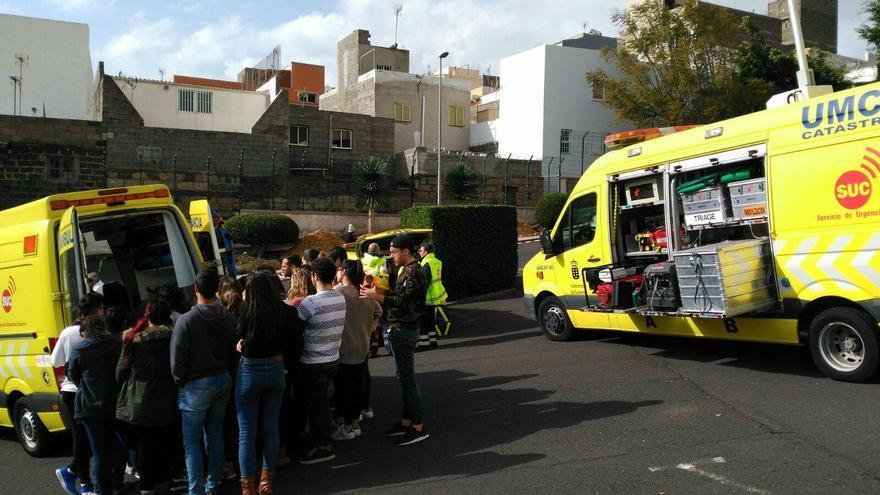 El Servicio de Urgencias Canario  continúa colaborando con la Universidad de La Laguna en la formación en materia de urgencias de los estudiantes de las Escuela de Enfermería en Tenerife y en La Palma.