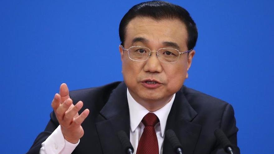 """El primer ministro chino advierte de que """"no titubeará"""" a la hora de defender la soberanía"""