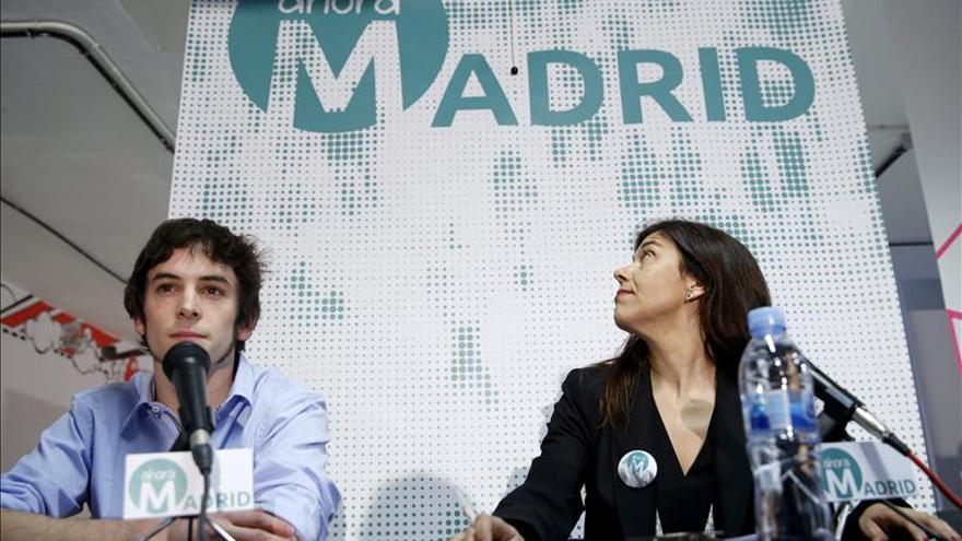 Presentación de Ahora Madrid, en 2015.